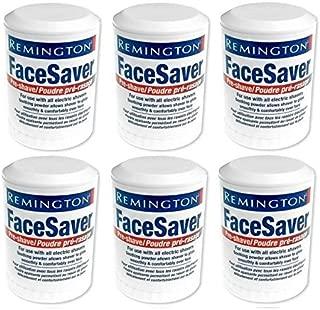 Remington Facesaver Pre-shave Electric Shaver Powder Stick 6 Pack