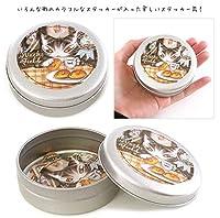 ダヤン ステッカー缶(ねずみパン)