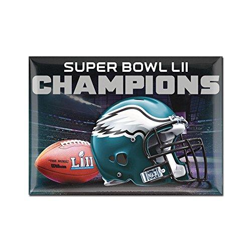 Originaler NFL Philadelphia Eagles Super Bowl Champions Magnet in 6x9 cm