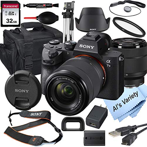 Sony Alpha a7 III Mirrorless Digital Camera with...