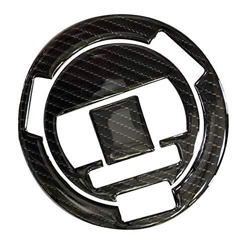 3D-Carbon-Faser-Tank Gas-Kappen-Auflage Einfüllabdeckung Aufkleber-Abziehbilder for BMW HP2 Sport 10-11 / S1000R F650GS S1000RR