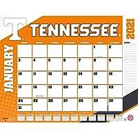 TURNER Sports テネシー ボランティア 2021 22X17 デスクカレンダー (21998061489)