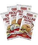 [novita'] 10x why sport frollini proteici 30g 40% proteine (caffe') no glutine, no olio di palma + omaggio-nt integratori