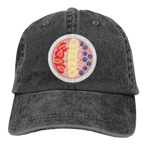 Yogurt Fruit Smoothie Bowl Cap Cappello da baseball...