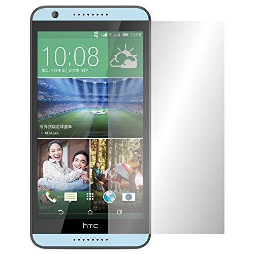 Slabo 2 x Bildschirmschutzfolie HTC Desire 820 Bildschirmschutz Schutzfolie Folie Crystal Clear unsichtbar Made IN Germany