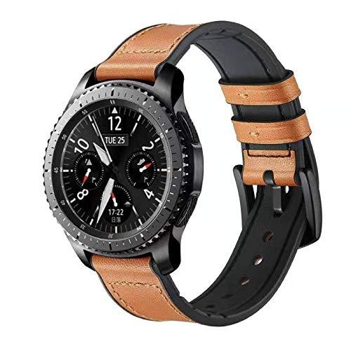 FOUUA Reloj Correas de Banda 20 mm 22 mm Compatible con Samsung Gear S3 Frontier Galaxy Gear S3 / Huawei Watch GT 1/2 Smartwatch Pulseras de Repuesto para Hombres o Mujeres