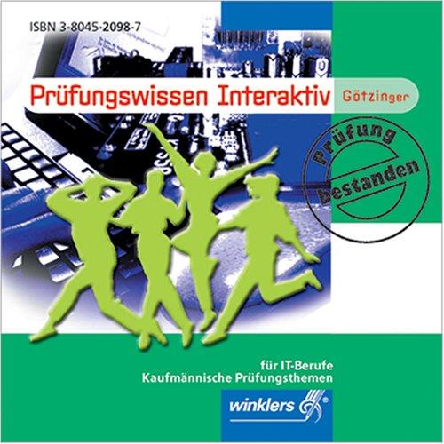 Prüfungswissen interaktiv für IT-Berufe, 1 CD-ROM