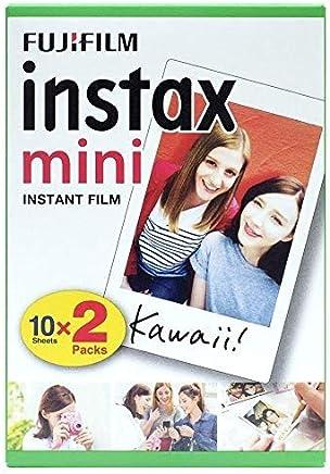 Instax - Fujifilm mini película, Pack of 2 x 10 hojas (20 hojas)