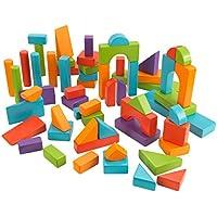 KidKraft 60 Piece Wooden Block Set
