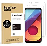 ivoler [2 Unidades] Protector de Pantalla para LG Q6 / LG Q6+ / LG Q6 Plus, Cristal Vidrio Templado...