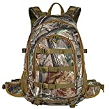 AUMTISC Sac à Dos de Chasse Packs Outdoor Travel Bag Military Tactical Backpack for Travel Hiking Camping Camouflage