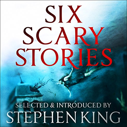 Six Scary Stories audiobook cover art