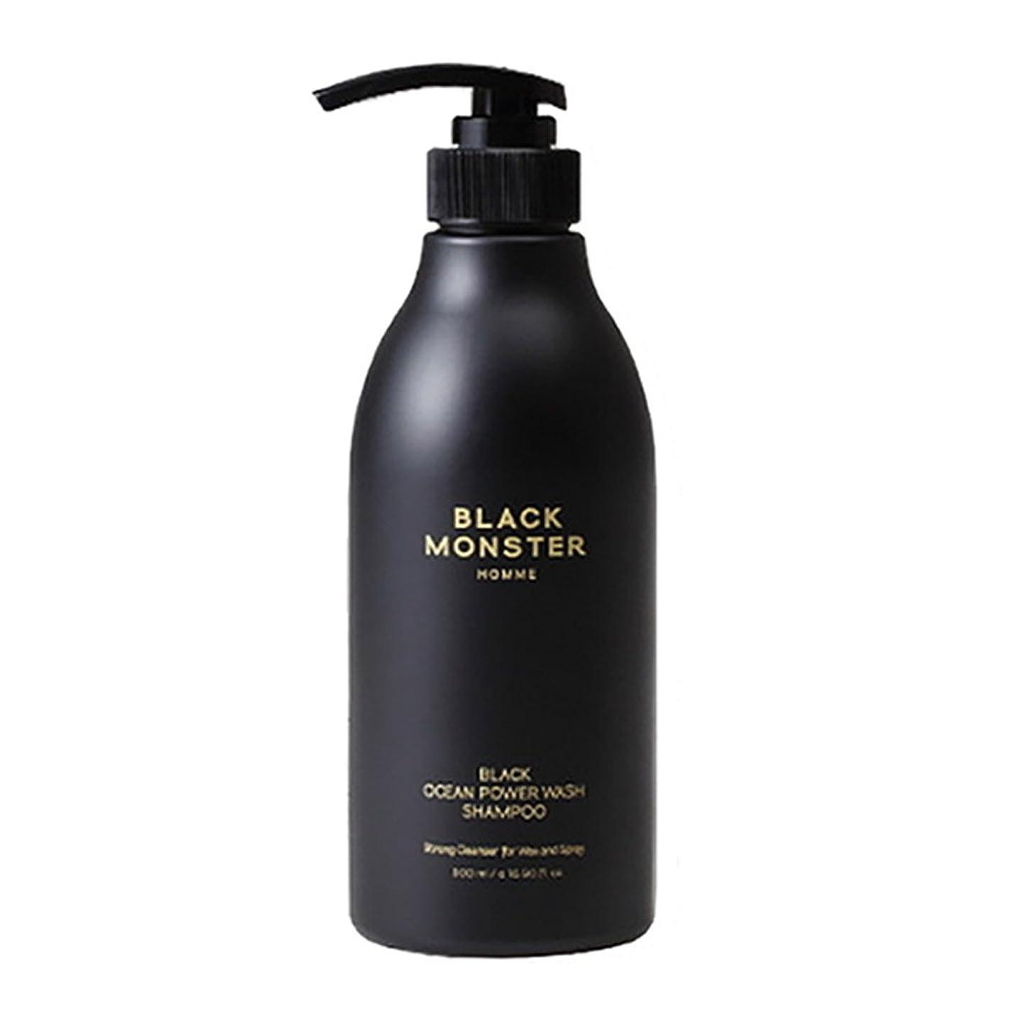 ピクニック夏無条件[ブレンクTV] blanktv Black Monster ブラックオーシャンシャンプ 500ml 海外直送品 black ocean shampoo [並行輸入品]
