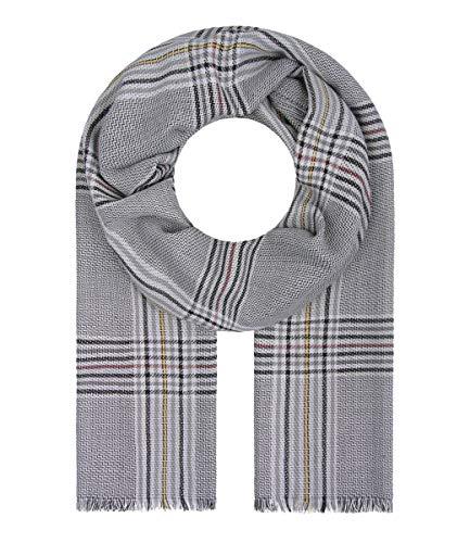 Majea Halstücher Damen Tuch Kopftuch Halstuch Schal Damen-Schal Tücher Damen Stola (grau 33)