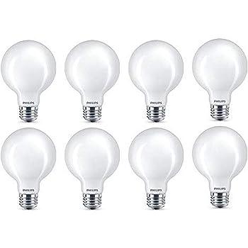 5 Watt 16-Pack T20 Certified 5000-Kelvin Daylight E26 Base Philips LED Non-Dimmable A19 Light Bulb: 450-Lumen