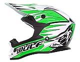 Wulfsport Casco da bambini Junior Advance per MX motocross