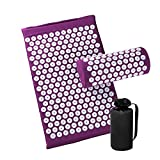 Best Back Pain Acupuncture Mats - Acupressure Mat and Pillow Set for Back/Neck Pain Review