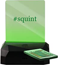 #Squint - Hashtag LED Rechargeable USB Edge Lit Sign