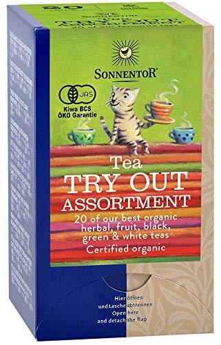 ゾネントア SONNENTOR ハーブティー オーガニック ティーバッグ アソート 20種類のお茶