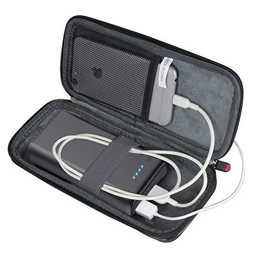 Hermitshell Duro Custodia da Viaggio per iPosible/Yacikos/Trswyop/HETP/QTshine Power Bank 24800mAh Caricabatterie Portatile Batteria Esterna