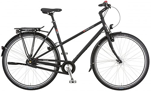 vsf fahrradmanufaktur T-XXL Nexus Trekking Bike 2015 (Ebony, 28