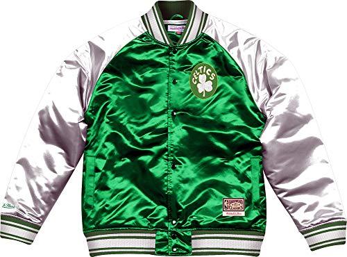 Mitchell & Ness Boston Celtics Big Face Colossal Satin Jacket Jacke Collegjacke