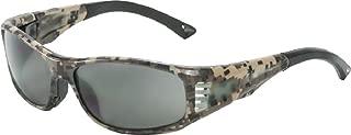 OnGuard OG 240S Rxable Safety Eyewear w Integral Strap ANSI Z87.1 Camo (61mm Eye)