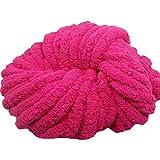 Hot Pink Jumbo Chenille Yarn,Chunky Chenille...
