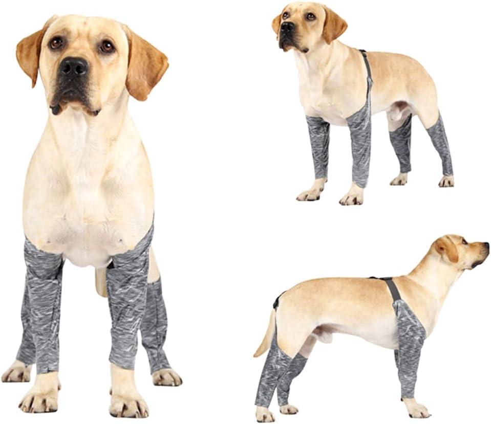 Dorakitten Dog Japan's largest assortment Leg Cover Spasm price Adjustable Reusable Breathable Elastic