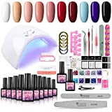 36W Lampe UV/LED Kit Vernis Gel Semi Permanent Soak Off...