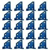 Piokoy 20 Unids/Set Pisos Separadores Laminado de Pisos de Madera Herramientas Triángulo Especial en Lugar de 1/4 Y 1/2 Pulgadas de Expansión de Las Lagunas de Madera Y Piso Flotante