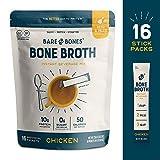 Bare Bones Bone Broth Instant Powdered Beverage Mix, Chicken, 10g Protein, Keto & Paleo Friendly,...