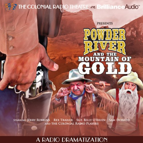 Powder River and the Mountain of Gold audiobook cover art