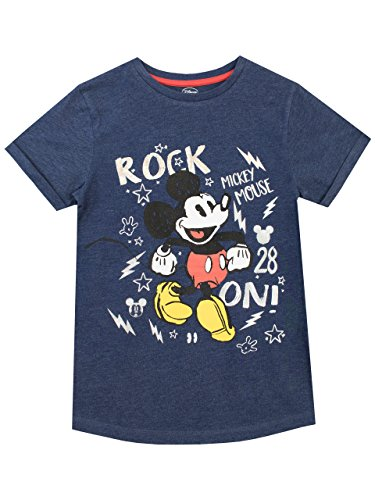 Disney Jungen Mickey Mouse T-Shirt Blau 110