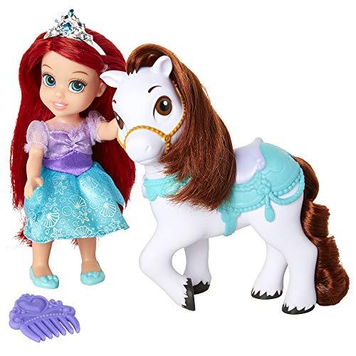 Disney Princess Ariel Petite Doll & Seahorse Pony