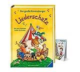 Buchspielbox El gran tesoro de canciones Ravensburger: las 100 canciones más bellas para niños + vista general de la música de Wimmel-Musik