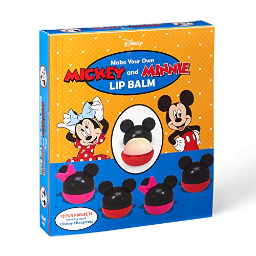 Make Your Own Mickey and Minnie Lip Balm: 12 Fun Projects Featuring Classic Disney Characters