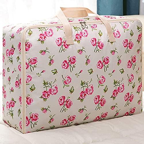 WYJRF Contenedores de Ropa Plegables para dormitorios universitarios Contenedores de Ropa para el hogar con edredón Esencial para niños (Color: Rosa (Bolsa de Almacenamiento)