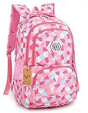 Kinderrugzak, schooltassen voor jongens en meisjes, schooltas, schoolrugzak, reizen, camping, casual, dagrugzak voor scholieren en volwassenen
