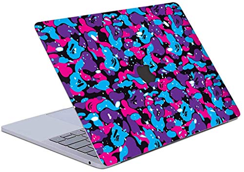 Skin Decal Compatible with MacBook Pro, Full Body Protection, 3M Material, Easy Removal and Anti-Scratch Laptop Vinyl Skin Hypebeast Inspired (Pro 13' Touch Bar, Multi Camo)