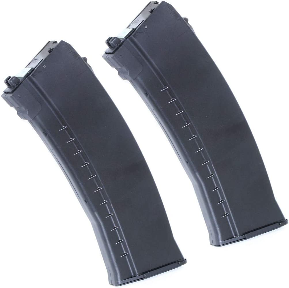 Airsoft Parts 2pcs 40rd Max 57% OFF Mag Gas Magazine Well OFFicial store WE AK74 S for G74A