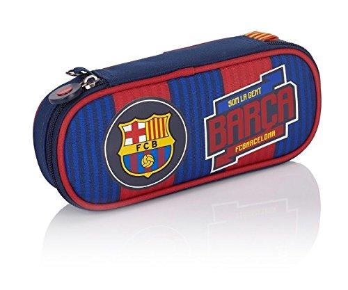 FC Barcelona Barca Fan 5 Astuccio, 23 cm, 0.9 liters, Blu (Navy Blue)
