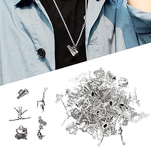 Qinyayoa Colgante de joyería, 70 Piezas de Colgante de Bricolaje, 5 Estilos para Tobilleras para Pulseras para Collares