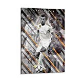 FENCUN Gareth Bale Poster, dekoratives Gemälde, Leinwand,