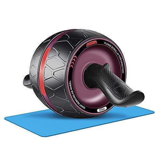 Afloia Bauchtrainer Ab Roller Wheel für Bauchmuskeltraining, Bauchübungsgeräte, Perfect Abdominal Core Carver Fitness Workout für Bauchmuskeln