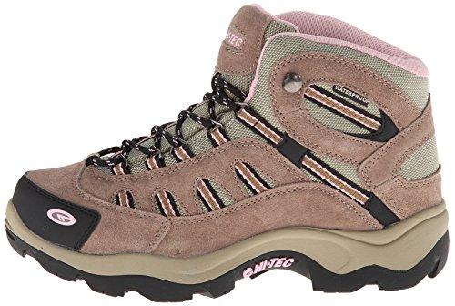 Hi-Tec Women's Bandera Mid Waterproof Hiking Boot,Taupe/Blush,8 M US