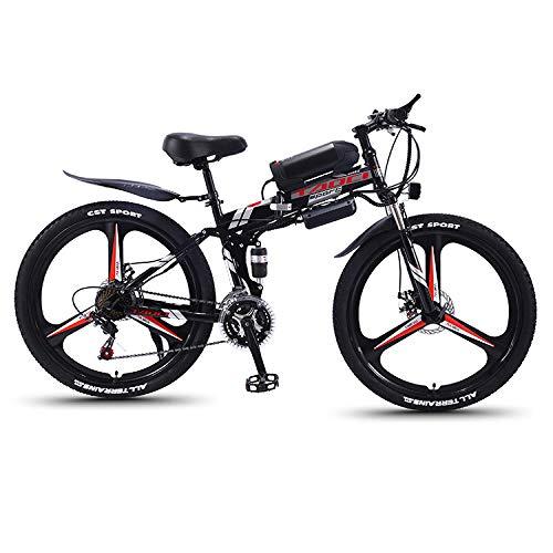LXLTLB Faltbares E-Bike 350W Elektrofahrräder 36V 10.4HA Lithium Batterie Mountainbike 26 Zoll Große Kapazität Faltbares Mountainbike