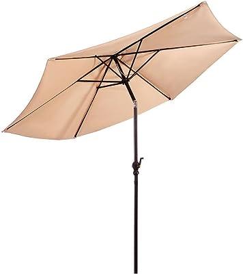Giantex Patio Umbrella, Beige
