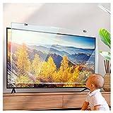 KELUNIS 32' TV Displayschutzfolie, Anti Blaues Licht/Anti-Smash Gehärtetes Glas Displayschutzfolie...