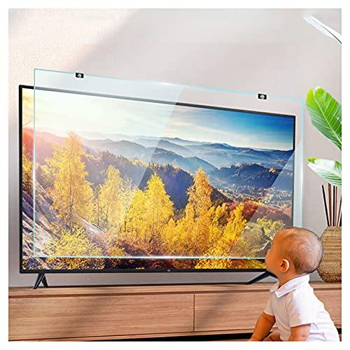 KELUNIS 32' Protector De Pantalla De TV, Luz Anti Azul/Anti-Aplastamiento Vidrio Templado Panel Protector De Pantalla Aliviar La Fatiga Ocular, para LED LCD